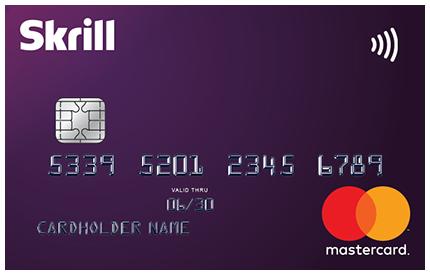 SKRILL Debit Card